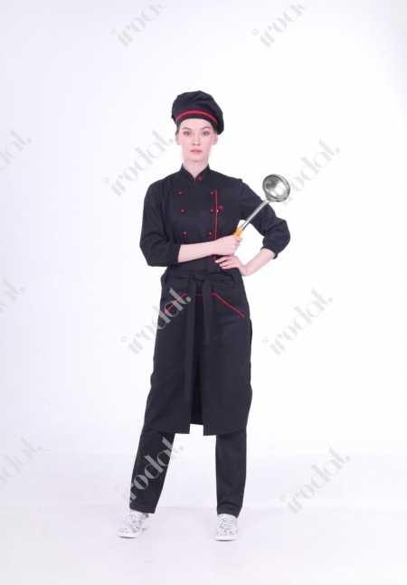 Поварской костюм женский