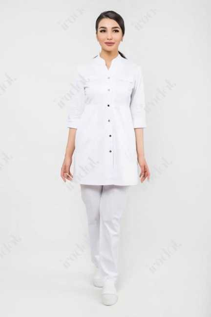 Медицинский женский халат от irodat модерн