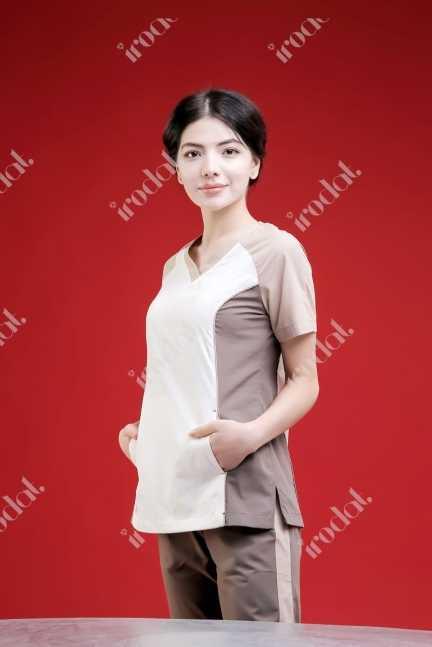 Обновленный хирургический женский костюм