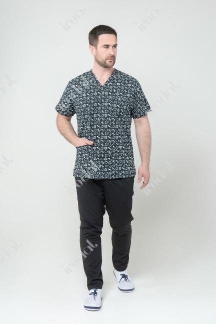 Новый  медицинский костюм мужской