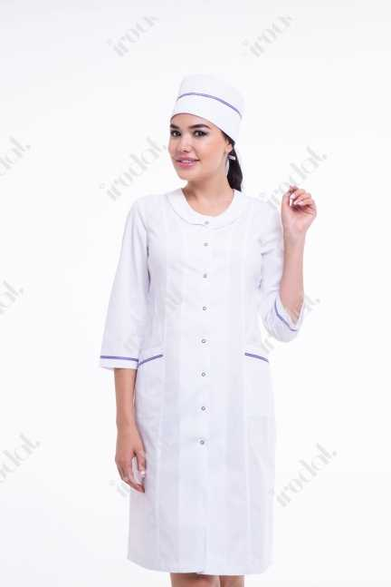 Медицинский женский халат от irodat модерн 2
