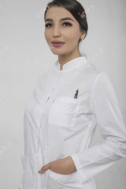 Медицинский халат. Строгий модерн стиль
