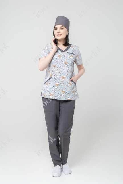 Медицинский форма хирургическая женский стильная 2