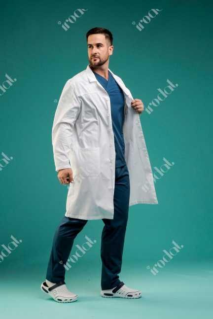 Мужской медицинский халат  от IRODAT