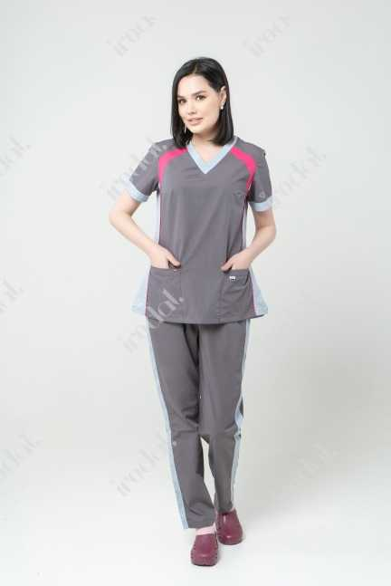 Медицинский форма хирургическая с брюками женский