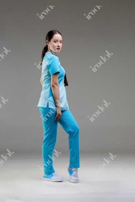 Медицинский костюм хирургический  женский от IRODAT