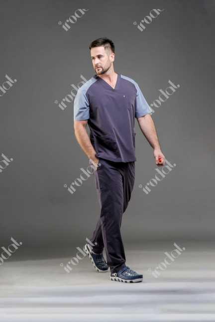 Медицинский форма хирургическая с брюками мужской