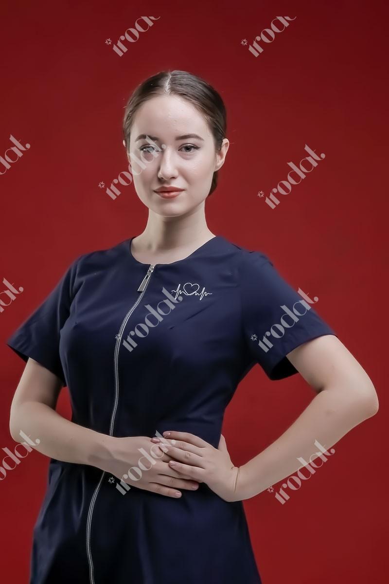 Медицинский костюм женский Модерн