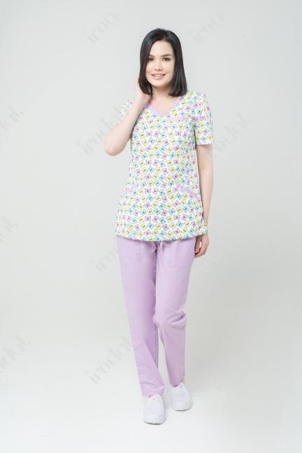 Медицинский форма хирургическая женский стильная 3